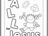 Children S Ministry Coloring Pages Fall Coloring Page for Childrens Church 2019