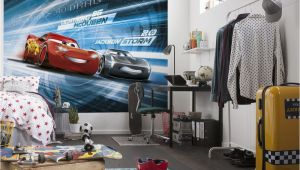 Childrens Bedroom Wall Murals Uk Cars 3 Disney Photo Wallpaper In 2019 Boys Room