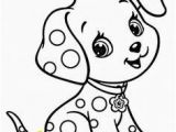 Childrens Coloring Pages Of Animals Cartoon Puppy Coloring Page for Kids Animal Coloring Pages