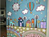 Childrens Painted Wall Murals 130 Latest Wall Painting Ideas for Home to Try 39