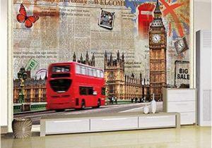 Childrens Painted Wall Murals Amazon Murals Custom 4d Wallpaper Building Series Big