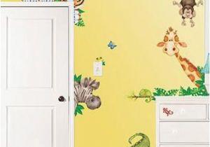 Childrens Wall Mural Stickers Jungle Room Fx Jumbo Wall Appliqués Yardseller Pinterest
