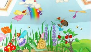 Childrens Wall Murals Ideas Fairy Mural Murals