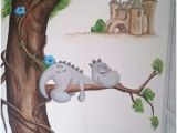 Childrens Wall Murals Painted Cartoon Characters or Animals Mural Painting for the Kids Room