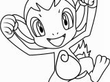 Chimchar Coloring Pages Chimchar Pokemon Coloring Page Free Pokémon Coloring Pages