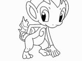 Chimchar Coloring Pages Pokemon Coloring Pages Chimchar Chiby Chimchar Pokemon Coloring