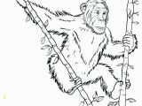 Chimp Coloring Pages Chimp Coloring Pages Chimpanzee Coloring Page Size Cartoon