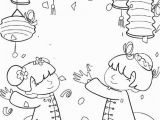 Chinese New Year Coloring Pages 2014 Kids Celebrate Chinese New Year Coloring Pages