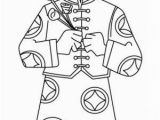 Chinese New Year Coloring Pages A Young Boy Holding Flowers Say Happy Chinese New Year