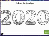 Chinese New Year Coloring Pages Colour the Numbers New Year 2020 Mindfulness Colouring Page