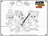 Chipettes Coloring Pages to Print Alvin and the Chipmunks Coloring Pages Diyouth