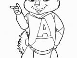 Chipettes Coloring Pages to Print Alvin Coloring Pages Collection