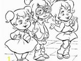 Chipettes Coloring Pages to Print the Chipettes Coloring Pages Eskayalitim
