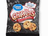 Chocolate Chip Cookie Coloring Page Great Value Mini Chippers Chocolate Chip Cookies 12 Oz 12