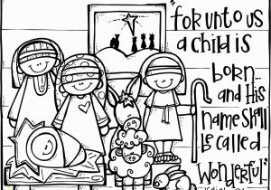Christian Christmas Coloring Pages Christian Christmas Activities Free Nativity Coloring Page From