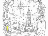 Christian Christmas Coloring Pages Christian Christmas Coloring Page Adult Coloring Books Art