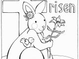 Christian Coloring Pages for toddlers Printable Jesus is Risen Christian Coloring Pages for Kids