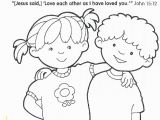 Christian Coloring Pages for toddlers Printable Printable Christian Coloring Pages for Kids