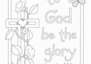 Christian Easter Coloring Pages Free Printable Glory Of the Lord Coloring Page Letter Writing Ideas