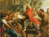 Christian Mural Paintings Peter Paul Rubens Einzug Christi In Jerusalem Art
