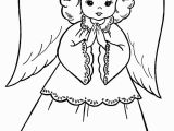 Christmas Angel Coloring Pages Christmas Angel Drawing at Getdrawings