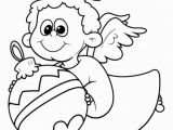 Christmas Angel ornaments Coloring Pages Printable Christmas Angel Printables