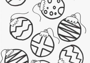 Christmas Balls Coloring Pages 21 Inspirational Bell ornaments Plan