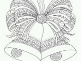 Christmas Bells Coloring Pages Christmas Bell Coloring Page Printable