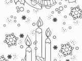 Christmas Bells Coloring Pages Christmas Joy – Candles and Bells