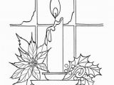 Christmas Bells Coloring Pages Free Christmas Bells and Candles Coloring Sheet to Color