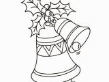 Christmas Bells Coloring Pages Free Printable Bell Coloring Pages for Kids
