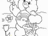 Christmas Care Bear Coloring Pages Best Inkleur Images In 2019