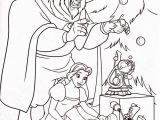 Christmas Coloring Pages Disney Princess Beauty and the Beast Christmas with Images