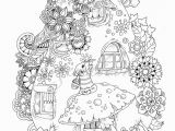 Christmas Coloring Pages for Adults Nice Little town 6 Adult Coloring Book Coloring Pages Pdf