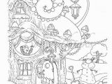 Christmas Coloring Pages for Adults Nice Little town Christmas 2 Adult Coloring Book Stress