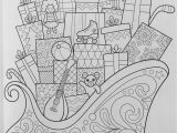 Christmas Coloring Pages for Grown Ups Christmas Coloring Book Coloring is Fun Thaneeya