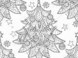 Christmas Coloring Pages for Grown Ups Stock Vector Merry Christmas Zentangle Fir Tree Doodle