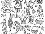 Christmas Coloring Pages Nutcracker Christmas Coloring Book Nutcracker Magic Vector Stock Vector