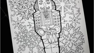 Christmas Coloring Pages Nutcracker Christmas Nutcracker Coloring Pages Snowflakes Printable