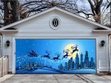 Christmas Garage Door Mural Garage Door Christmas Decorations – Christmas Decorating Fun