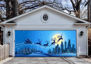 Christmas Garage Door Mural Garage Door Christmas Decorations – Christmas Decorating Fun