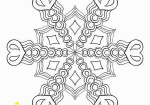 Christmas Greeting Cards Coloring Pages Zentangle Elegant Snow Flake Mandala for Adult Coloring Pages