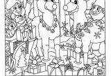 Christmas Hidden Picture Coloring Pages Liz S Hidden Reindeer Christmas Pinterest