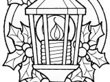 Christmas Lights Coloring Pages Printable Christmas Lantern Coloring Pages 1