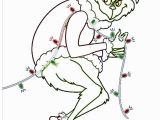 Christmas Lights Coloring Pages Printable Grinch Stealing Lights Color Page Google Search with