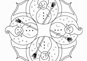 Christmas Mandala Coloring Pages Printable Free Printable Mandala Coloring Pages
