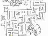 Christmas Maze Coloring Page Christmas Tree Maze 2 Posada Pinterest