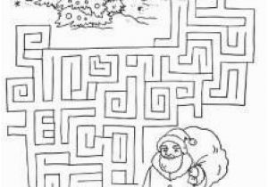 Christmas Maze Coloring Page Christmas Tree Maze 2 Posada Pinterest