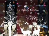 Christmas Murals for Walls $12 98 Aud Christmas Deer Tree Vinyl Bination Wall Stickers