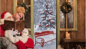 Christmas Murals for Walls Uk Dlm2020 Snow Christmas Tree Door Wall Sticker Graphic Unique Mural Cosplay Gifts for Living Room Home Decoration Pvc Decal Paper Wn649d Nursery